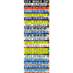 Soccer world cup canvas