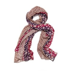 Alex leopard scarf