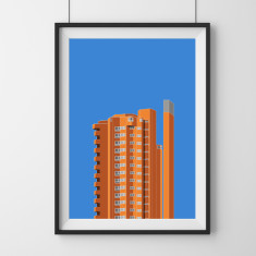Worlds End Estate London 1 giclee art print