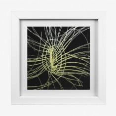 Grass texture 2 framed Yalanji artwork