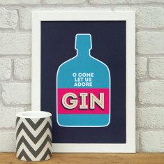 Gin print