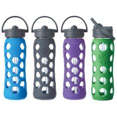 Lifefactory straw cap glass bottle 22oz (various colours)
