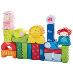 HABA eeny meeny miny zoo wooden stacking blocks