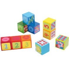 Haba building blocks number dice