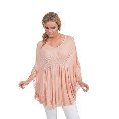 Ciara tunic in dusty rose