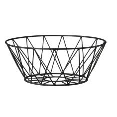 Black bread basket