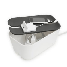 Bosign cable organiser for all devices with grey lid
