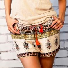 Amani print shorts
