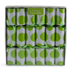 Christmas crackers in lime spot