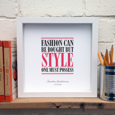 Personalised style one must posess print