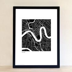 Brisbane art print