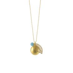 Globe leaf pendant