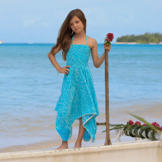 Hattie dress in cherry print