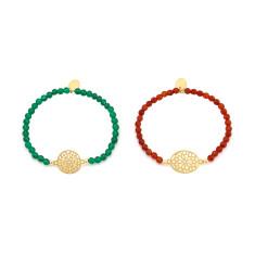 Gold temple bracelet