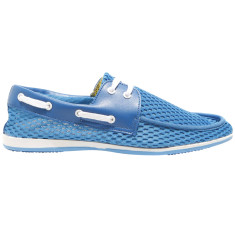 Boater sky blue men's boat shoe