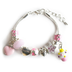 Children's age charm bracelet (various ages)