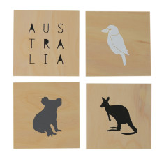 Australia screenprints on ply series