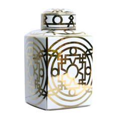 Great Gatsby ceramic urn