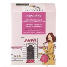 Scented candle in Think Pink