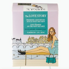 Scented candle in The Love Story