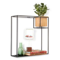 Umbra cubist large floating shelf display