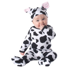 Cow baby four piece set
