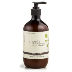 Bergamot & geranium body lotion