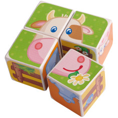 Haba carola cow puzzle and board game