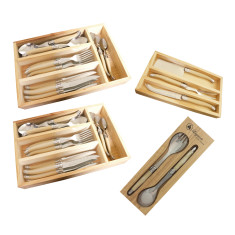 Laguiole by Louis Thiers multi-set pack with ivory coloured handles