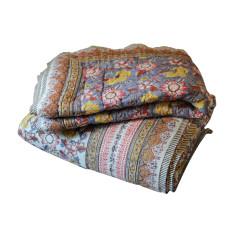Mauve garden queen quilt