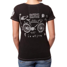 Women's fixation code of honour t-shirt
