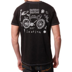 Men's fixation code of honour t-shirt