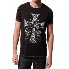 Men's true religion black t-shirt