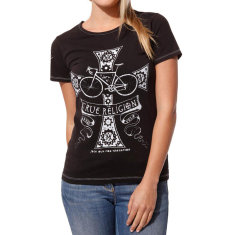 Women's true religion black t-shirt