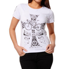 Women's true religion white t-shirt
