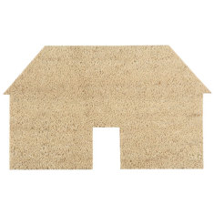 Village house doormat