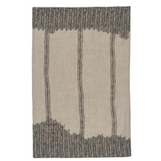 Entwine linen tea towel
