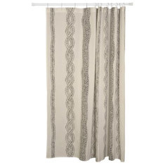 Entwine shower curtain