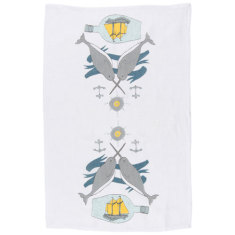 Seven seas linen tea towel