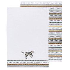 Saddle up tea towels (set of 2)