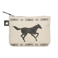 Saddle Up Zipper Pouch (various sizes available)