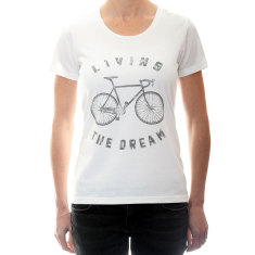 Women's living the dream t-shirt