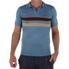 Men's heritage wool polo shirt