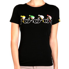 Women's cycling fixation t shirt