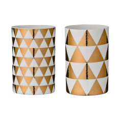 Fine porcelain votives (set of 2)