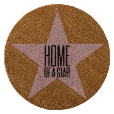 Home of a star doormat