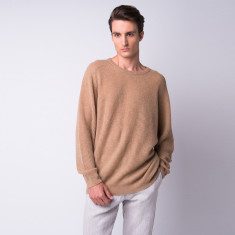 Poet feather light cashmere crew top