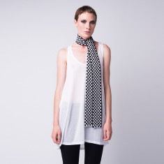 One hundred ways cashmere scarf