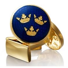 Skultuna cufflinks three crowns