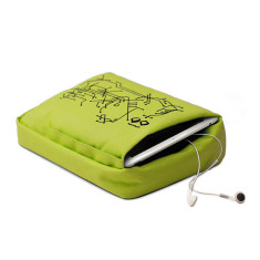Bosign tablet pillow for laptop/tablets in lime
